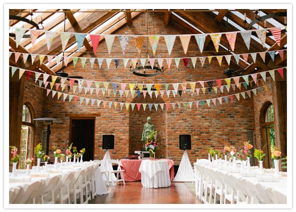 Nice touches, Fabulous bunting