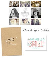 Stationery. Thank you cards