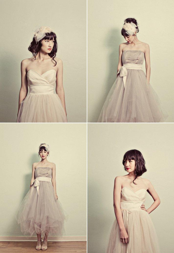 Dresses with Drama, wedding dress, tulle, strapless, sash