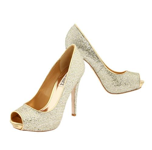Shoe Shortlist, shoes, open toe, sparkle, heels, Badgley Mischka