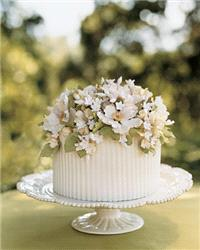 Cakes. cake, flowers, white, green
