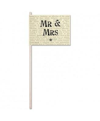 Wedding Accessories, Overall height 26cm / 10.25 inchesFlag size 8cm x 10.3cm / 3 inches x 4 inc