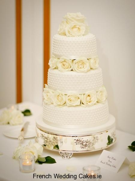Cakes, Jardin de Roses Stylish (Pearl Piping)