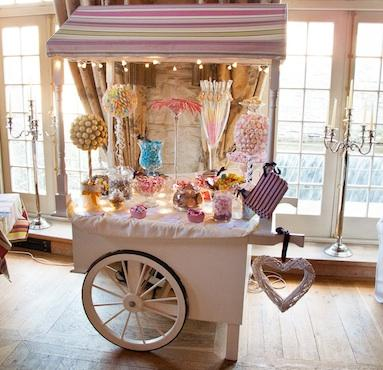 Miscellaneous, Sweet Cart with a wonderful selection of your favourite type of sweets. Presented in