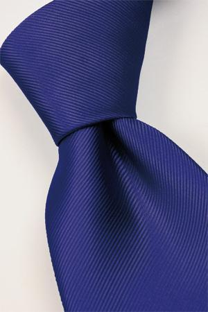 Attire, Tie (cobalt). Connexion ties are hand finished to the highest quality and are 100% silk. Det
