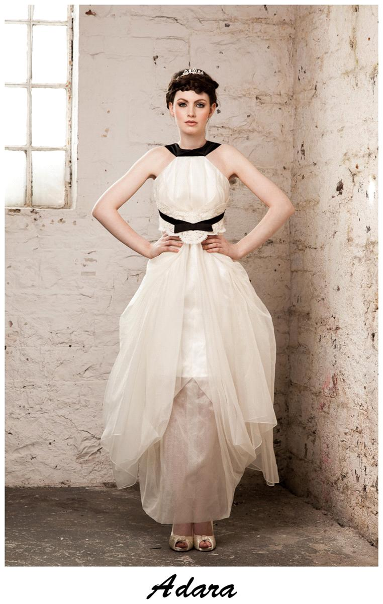 Bridal Dresses, Claire O'Connor's _W_ collection: Adara wedding dress.