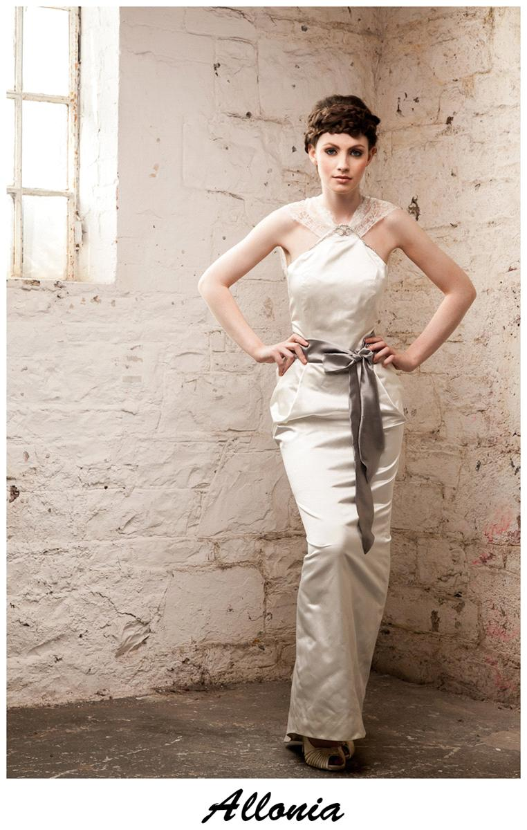 Bridal Dresses, Claire O'Connor's _W_ collection: Allonia wedding dress.