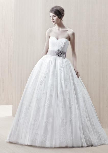 Bridal Dresses, Anne Gregory Grace Front wedding dress.