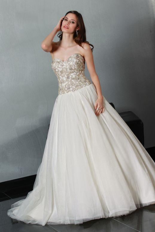 Bridal Dresses, Impression Bridal wedding dress (Ref. 50191A).