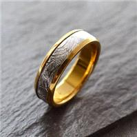 Jewellery. Ring for Adam; http://www.notonthehighstreet.com/marthajackson/product/meteorite-inlaid-g