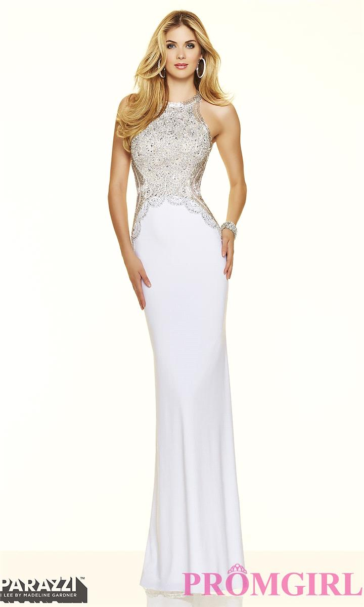 My Stuff, https://www.petsolemn.com/morilee/2279-long-jersey-high-neck-open-back-prom-dress-by-mori-