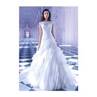 https://www.anteenergy.com/6422-retro-a-line-jewel-neck-organza-lace-floor-length-bridal-gown-with-p