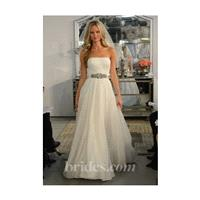 Watters - Spring 2013 - Francisca Strapless A-Line Wedding Dress with a Ribbon Sash - Stunning Cheap