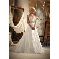 White/Silver Mori Lee Bridal 1913 - Brand Wedding Store Online