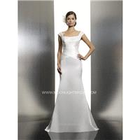 Moonlight Tango T621 Bridal Gown (2014) (MN14_T621BG) - Crazy Sale Formal Dresses|Special Wedding Dr
