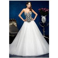 KITTYCHEN Couture BEVERLY, H1380 - Charming Custom-made Dresses|Princess Wedding Dresses|Discount We