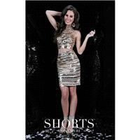 Black Mon Cheri MCS11601 - 2-piece Short Sequin Sexy Dress - Customize Your Prom Dress