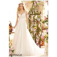 Voyage by Madeline Gardner 6803 Wedding Dress - The Knot - Formal Bridesmaid Dresses 2017|Pretty Cus