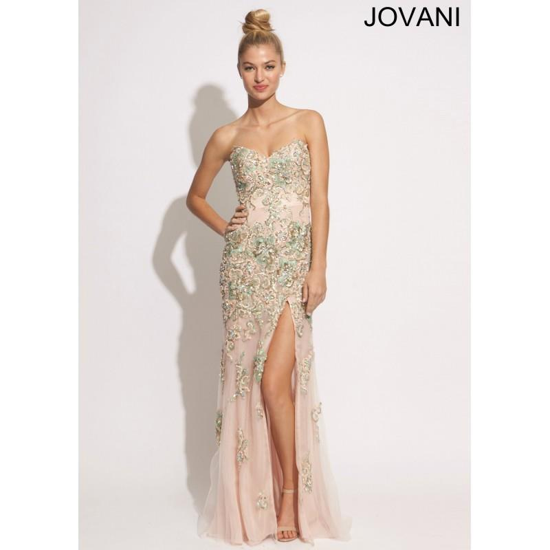 My Stuff, Jovani 89259 Stunning Beaded Gown - 2017 Spring Trends Dresses|Beaded Evening Dresses|Prom
