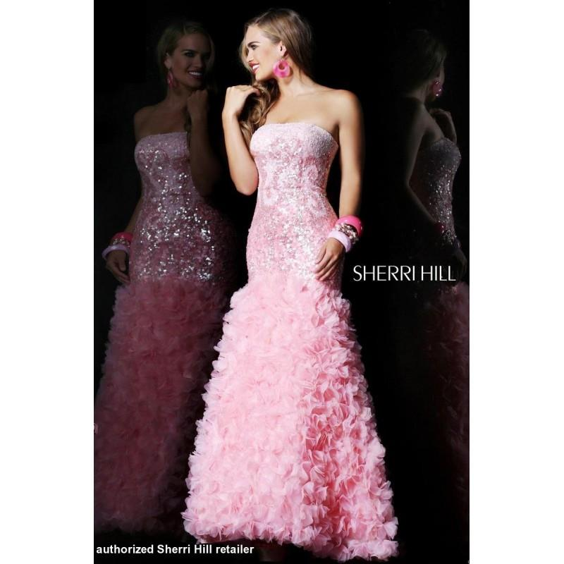 My Stuff, Pink Sherri Hill 8500 - Brand Wedding Store Online