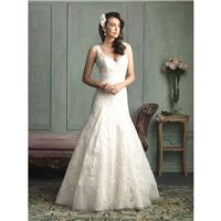 Light. Gold/Ivory Allure Bridals 9125 Allure Bridal - Rich Your Wedding Day