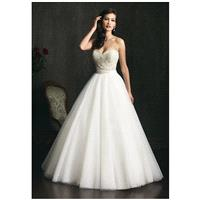 Allure Bridals 9055 - Charming Custom-made Dresses|Princess Wedding Dresses|Discount Wedding Dresses
