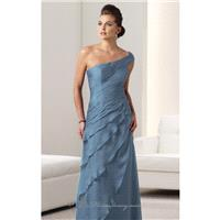 Tiered Evening Gown by Mon Cheri Montage 112910 - Bonny Evening Dresses Online