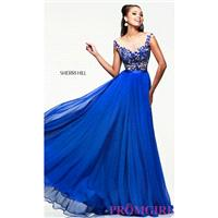 Sherri Hill Designer Evening Gown - Brand Prom Dresses|Beaded Evening Dresses|Unique Dresses For You
