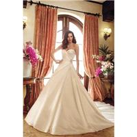 Style Y11721 by Sophia Tolli - Ivory  White Satin Detachable Straps Floor Sweetheart  Strapless Wedd