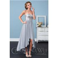 Christina Wu Style 22755 by Celebration by Christina Wu - Sequin  Tulle High-Low Sweetheart  Straple