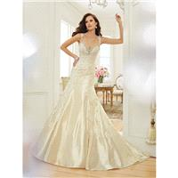 Sophia Tolli Y11551 Swan Taffeta Cutout Back Fit And Flare - Wedding Sweetheart Sophia Tolli Fit and
