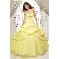 Wholesale New Arrival Quineanera Dresses Sweetheart Ball Gown Floor Length  Ruffled Perfect - dresso