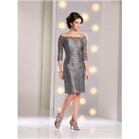 Pewter Social Mothers Gowns Long Island Social Occasions by Mon Cheri 213899 Social Occasions by Mon