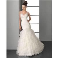 Aire Barcelona Plata Bridal Gown(2012) (AB12_PlataBG) - Crazy Sale Formal Dresses|Special Wedding Dr