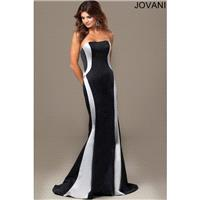 Jovani 23801 Evening Dress Two-Tone Satin - Social and Evenings Jovani Dress - 2017 New Wedding Dres