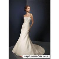 Mori Lee Angelina Faccenda Bridal Dress CollectionStyle 1076 Silk Shantung - Compelling Wedding Dres