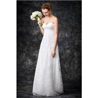 Style GA2265 by Kenneth Winston%3A Gallery - Lace Chapel Length Floor length A-line Sweetheart Sleev