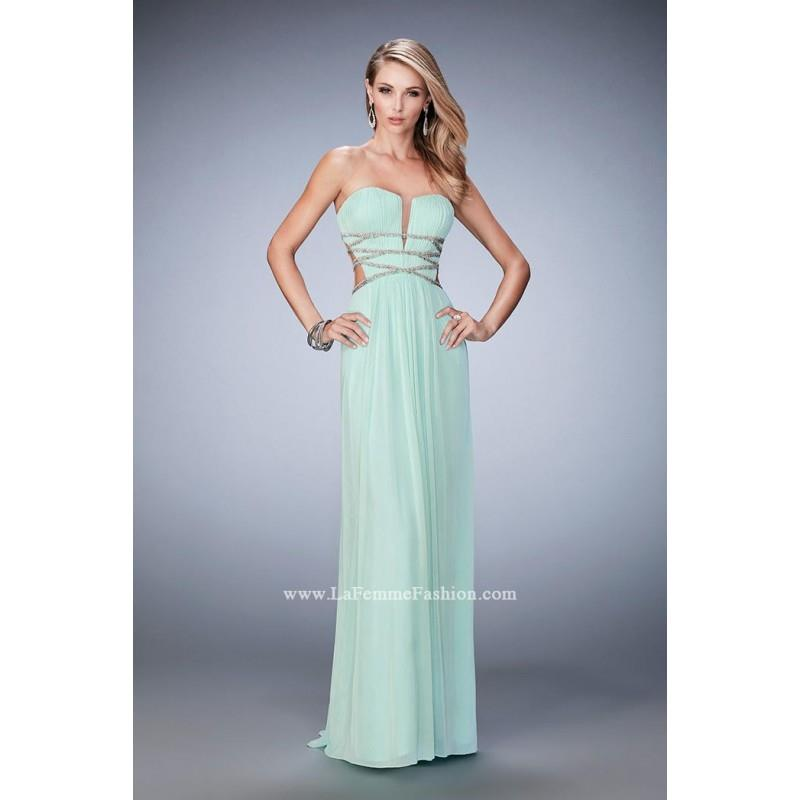 wedding, Mint La Femme 22465 La Femme Prom - Rich Your Wedding Day