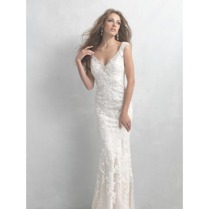 My Stuff, White/Silver Madison James Bridal  MJ12 - Brand Wedding Store Online