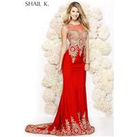 Red Shail K. 3912 SHAIL K. - Rich Your Wedding Day