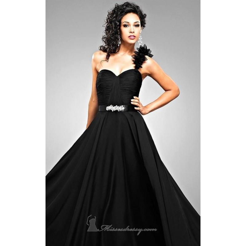 wedding, Fitted Bodice Romantic Chiffon Dress By Landa Designs Signature Pageant - Cheap Discount Ev