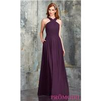 Cross Halter Bridesmaid Dress by Bari Jay - Brand Prom Dresses|Beaded Evening Dresses|Unique Dresses