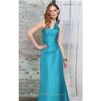 Taffeta Rosette Dress by Bridesmaids by Mori Lee - Color Your Classy Wardrobe