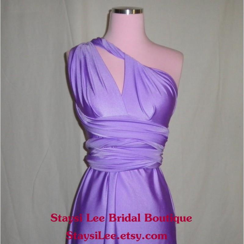 My Stuff, Lilac Purple Bridesmaids Dress -  Infinity Dress...Bridesmaids, Weddings, Special Occasion