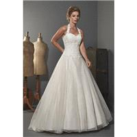 Romantica Hartford by Opulence Bridal - Organza Floor Halterneck A-Line  Ballgown  Princess Wedding
