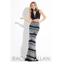 Rachel Allan Prom 7603 Black,Royal,Yellow Dress - The Unique Prom Store
