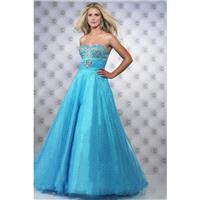 Wholesale 2017 Divine Dress Beaded Bodice Pleated Waistline With Ball Gown Tulle Skirt - dressosity.