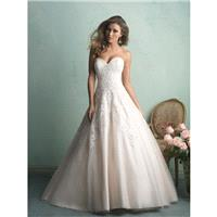 Allure Bridals 9153 Sweetheart Neckline Lace Ball Gown Wedding Dress - Crazy Sale Bridal Dresses|Spe