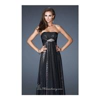 Strapless Sweetheart Gown by La Femme - Color Your Classy Wardrobe