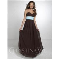 Christina Wu Occasions 22554 Strapless Sweetheart Neckline and Empire Waist Bridesmaid Dress - Crazy